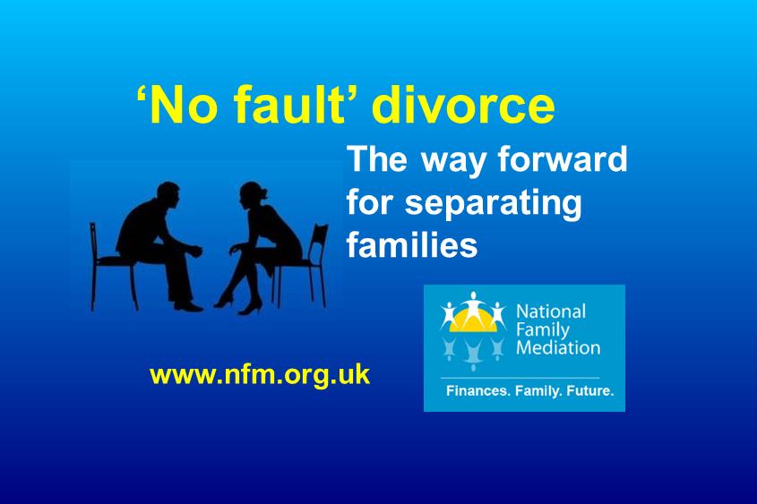 UK's EU divorce must not delay 'no fault' law