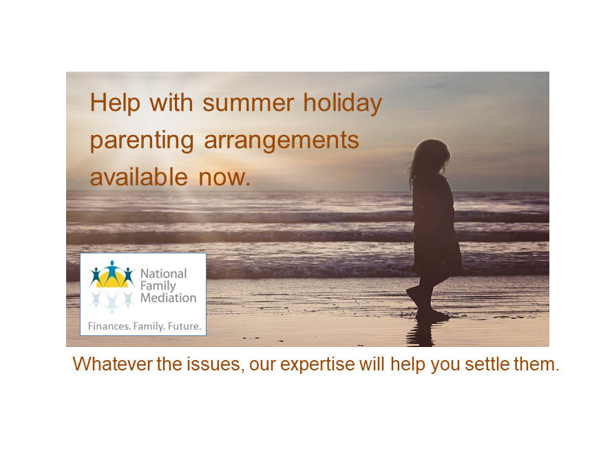 Sort a summer holiday parenting plan now!