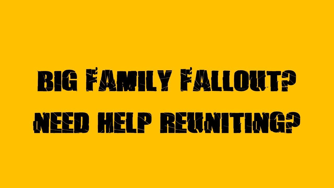Healing old wounds: families sought for TV programme